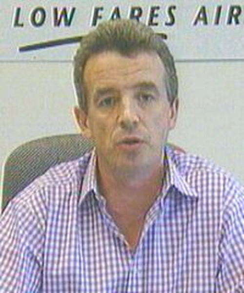 Michael O'Leary - Annual results better than expected