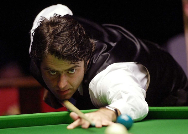 Ronnie O'Sullivan taught Dominic Dale a lesson in Belfast this afternoon