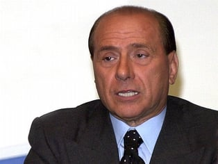 Silvio Berlusconi - On trial for corporate fraud