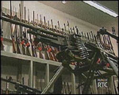 IRA weapons - Full decommissioning