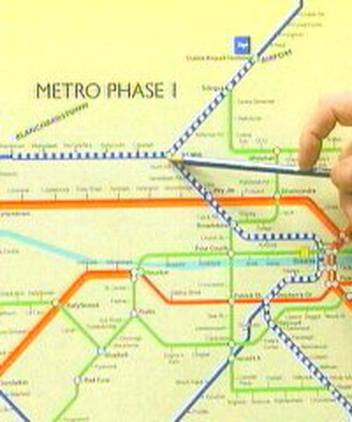 Metro plans - Call for terminal location
