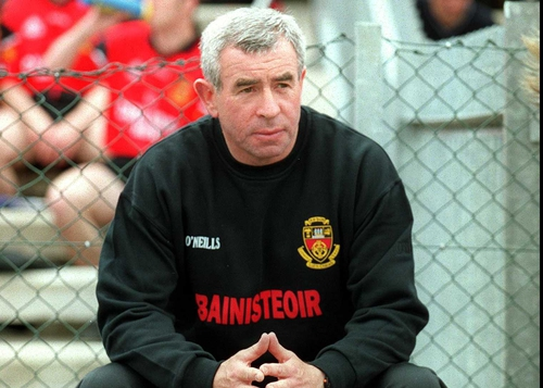 Ireland boss Pete McGrath