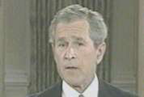 George W Bush - Opposes same sex marriage
