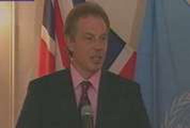 Tony Blair - Agrees terror plan