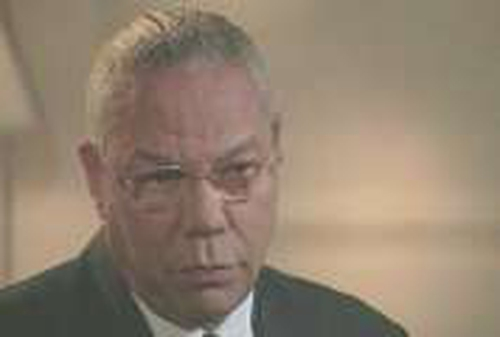 Colin Powell - Resigns from Bush Cabinet