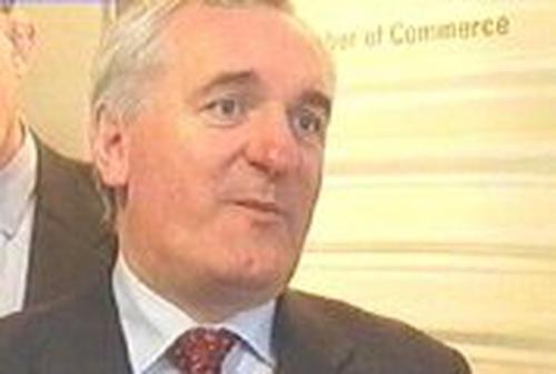Bertie Ahern - Defends citizenship poll