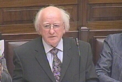 Michael D Higgins - 'Dáil has a right to know'