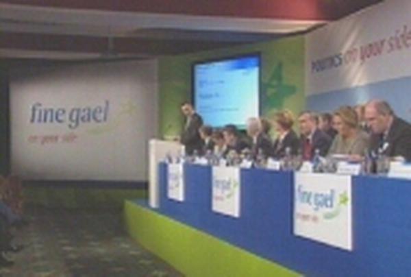 Fine Gael Ard Fheis - Govt under attack