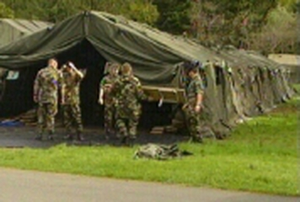 Phoenix Park - Army security preparations