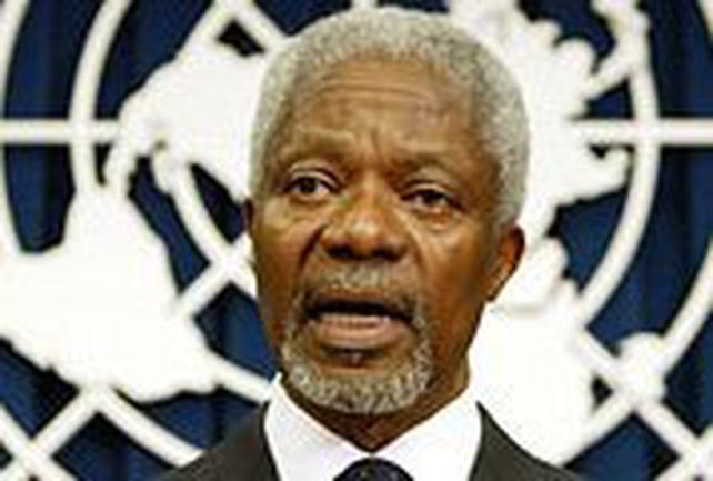 Kofi Annan - Dismissed complaint
