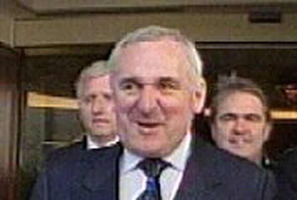 Bertie Ahern - For Helsinki meeting