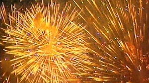 Across Austria, around a dozen people were wounded in firework-related mishaps