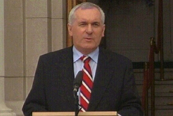 Bertie Ahern - Further reaction to IRA statement