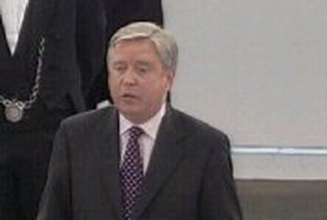 Pat Cox - Standing down from EU parliament