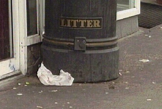 Litter In Ireland