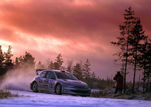 Marcus Gronholm won the 2006 Rally of Finland on Sunday