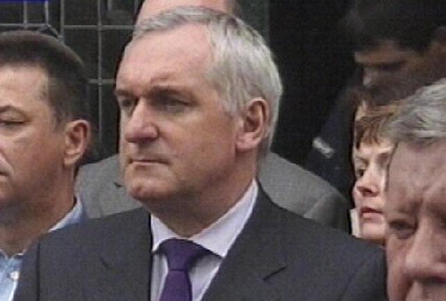 Taoiseach Bertie Ahern - Attending Holocaust memorial