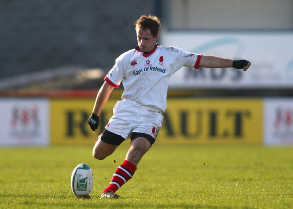 Ulster's David Humphreys has not started a game for Ireland since last year's World Cup clah with Argentina
