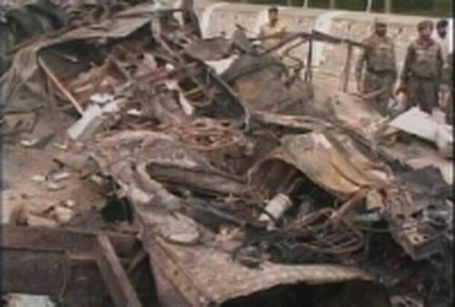 Srinagar - Landmine attack on bus