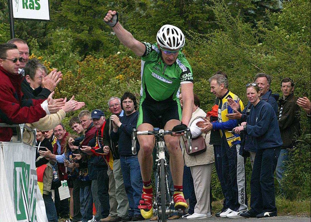 David O'Louglhin will lead the Grant Thornton Irish team in the FBD RÁS