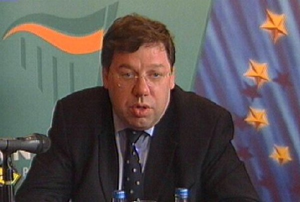 Brian Cowen - Increase in excise duties - not ruled out
