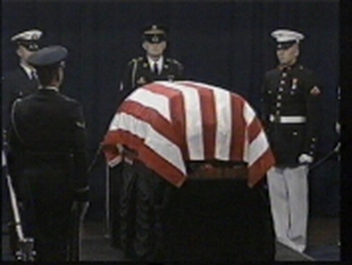 Ronald Reagan - Lying in state