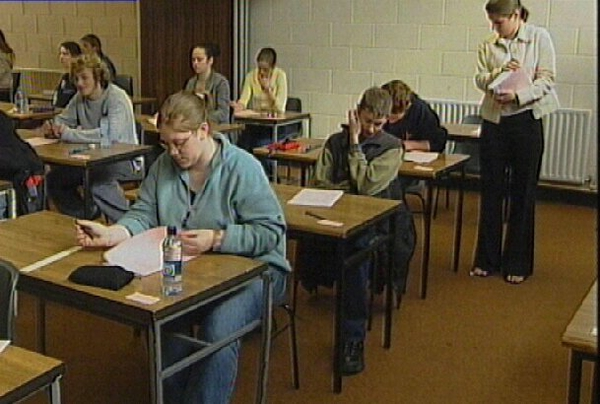 Exam time - Leaving & Junior Cert begin