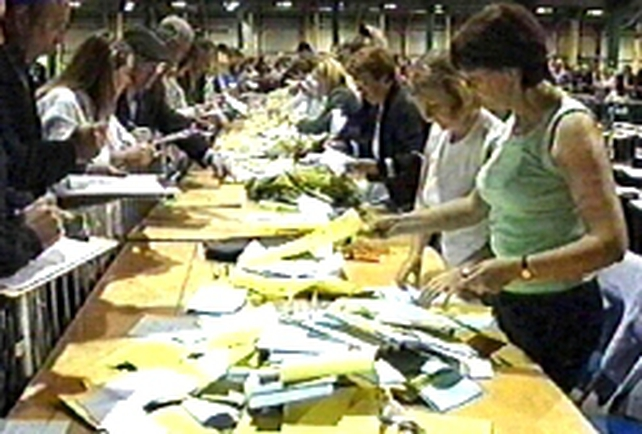 Local Election - Count continuing