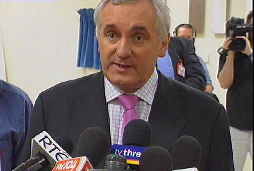 Bertie Ahern - Disability strategy published