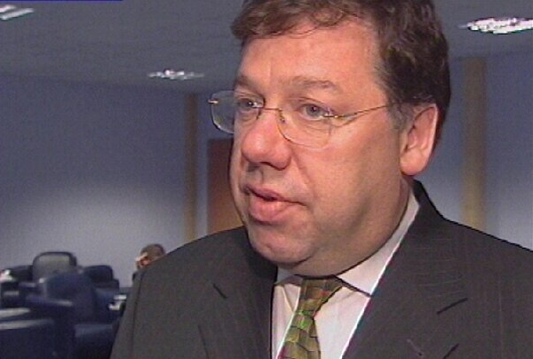Brian Cowen - Addresses bankers' dinner