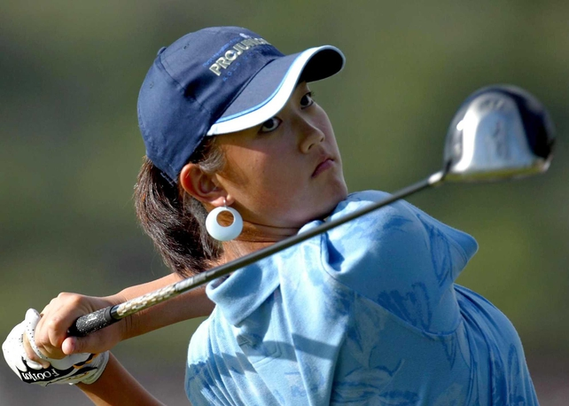 Michelle Wie inspired the US to Curtis Cup victory over GB and Ireland