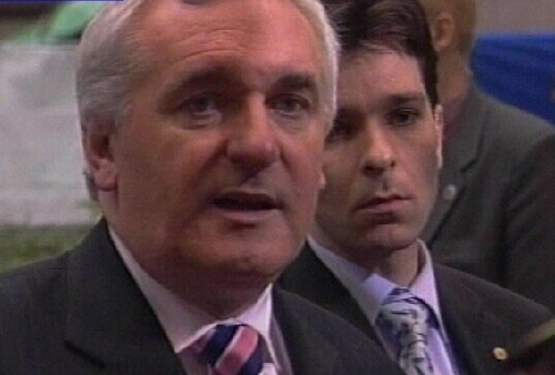 Bertie Ahern - Leaders edging closer to constitution agreement