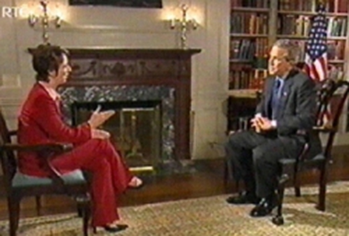 The White House - President Bush interviewed by Carole Coleman