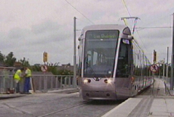 Luas - Extension to be completed by 2008