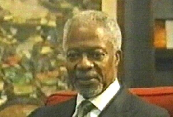Kofi Annan - UNSC urged to take action over Sudan