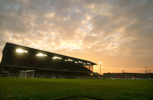 Lansdowne Road will be turned into a fifty-thousand seater stadium