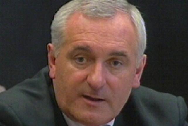Bertie Ahern - Talks with Irish aid agencies