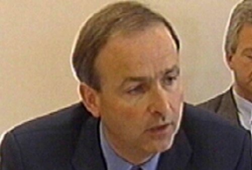 Micheál Martin - Praised over smoking ban