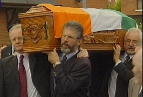 Funeral of Joe Cahill - Thousands attend in Belfast