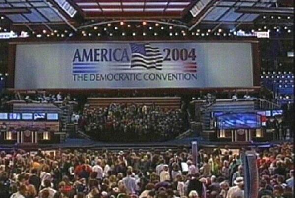 Democratic Party Convention - Clinton & Carter boost campaign