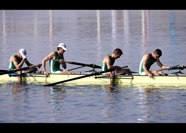 The Irish men's lightweight four are through to the World Championship final