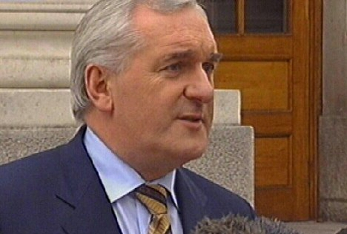 Bertie Ahern - Good relations with PDs