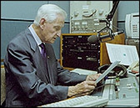 Seán Óg in the studio.