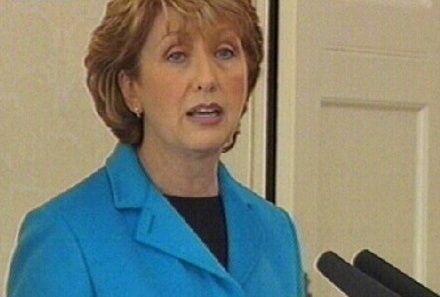 Mary McAleese - Referred bill to Supreme Court
