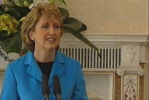 Mary McAleese - Seeking second term