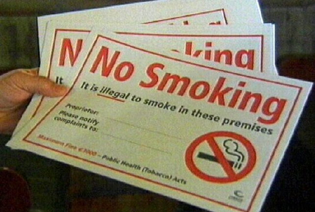 Smoking ban - Survey on smoking at home