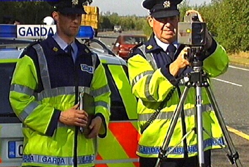 Garda camera images - 47% were 'spoiled'