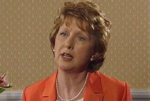Mary McAleese - To serve second term