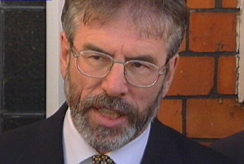Gerry Adams - Late, Late Show interview
