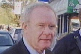 Martin McGuinness - Denies being on IRA council